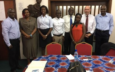 EWRC and Water Consultant meet with Guma Valley Water Company