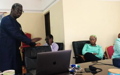 A CROSS SECTION OF EWRC STAFFS BENEFIT FROM ONE DAY BUSINESS WRITING SKILLS PRESENTATION