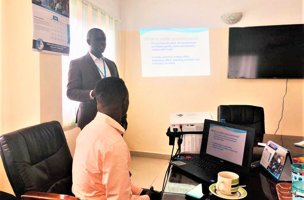 NPPA trains EWRC staff on National Public Procurement Procedures