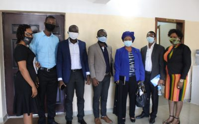 DEPUTY MINISTER OF WATER RESOURCES PAYS VISIT TO EWRC